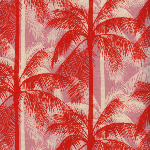 Poolside Palms in Pink