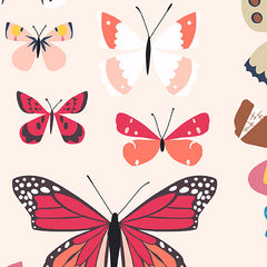 Natural History Lepidopterist in Red from Natural History by Andover House Designers  for Andover