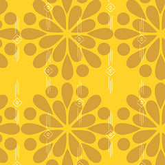 Ex Libris Floral in Yellow from Ex Libris by Alison Glass for Andover