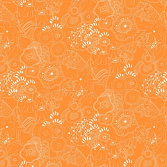 Sun Print 2016 Grow in Tangerine from Sun Print 2016 by Alison Glass for Andover