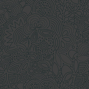 A-8450-K1 Sun Print 2020 Stitched in Night by Alison Glass for Andover Fabrics from Pink Castle Fabrics