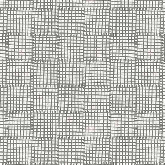 Cats and Dogs Grid in Grey