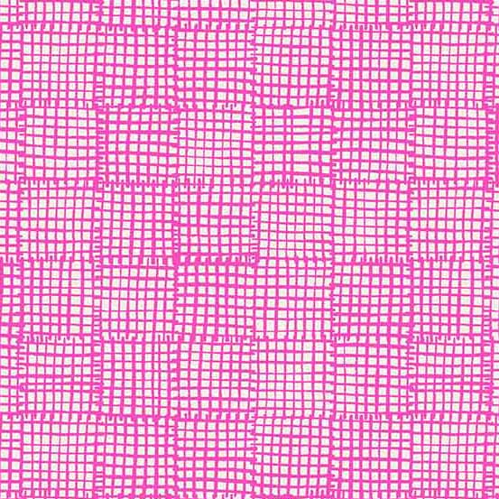 Cats and Dogs Grid in Pink