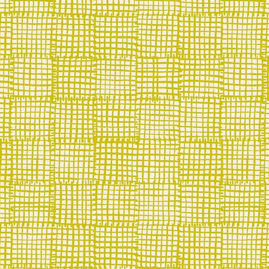Cats and Dogs Grid in Yellow