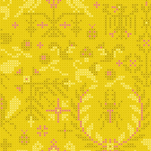A-9387-Y Sun Print 2020 Menagerie in Pencil by Alison Glass for Andover Fabrics from Pink Castle Fabrics