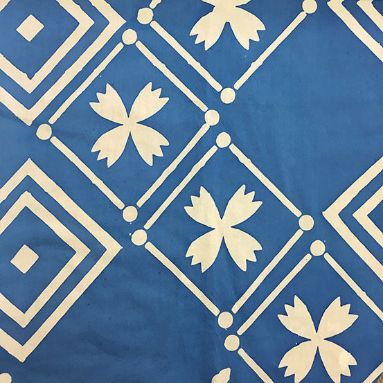 Handcrafted Patchwork Tile in Cornflower