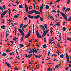 Les Fleurs Tapestry in Rose from Les Fleurs by Rifle Paper Company for Cotton+Steel