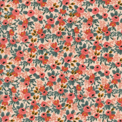 Les Fleurs Rosa in Peach from Les Fleurs by Rifle Paper Company for Cotton+Steel