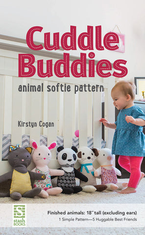 Cuddle Buddies Animal Softie Pattern - Paper Pattern