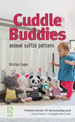 Cuddle Buddies Animal Softie Pattern - Paper Pattern from Maribel by Colette Patterns for Stash Books