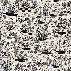 Wonderland Magic Forest in Neutral from Wonderland by Rifle Paper Company for Cotton+Steel