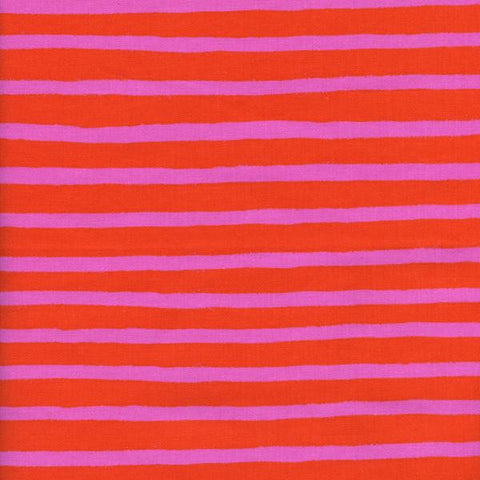 Wonderland Cheshire Stripe in Orange