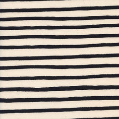 Wonderland Cheshire Stripe in White from Wonderland by Rifle Paper Company for Cotton+Steel