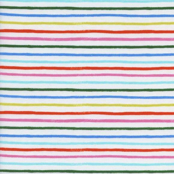 Amalfi Happy Stripes Lawn in Cream