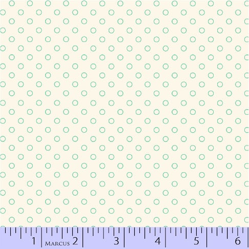 Aunt Grace Backgrounds Lots of Dots in Gray