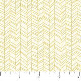 Mountain Meadow Herringbone in Yellow