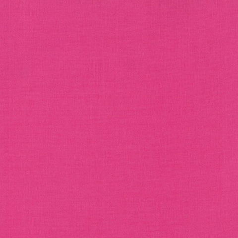 Cotton Supreme Solid in Pink Sapphire