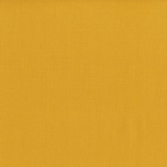 Cotton Supreme Solid in Mustard