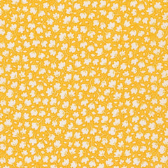 Just One of Those Days Leaves in Screamin Yellow from Just One of Those Days by Darlene Zimmerman for Robert Kaufman