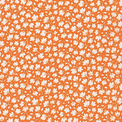 Just One of Those Days Leaves in Orange from Just One of Those Days by Darlene Zimmerman for Robert Kaufman
