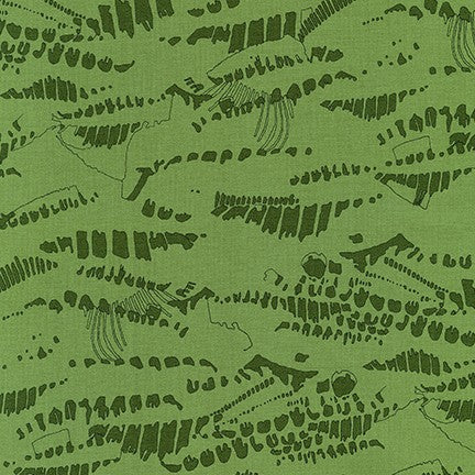 AFR-19069-31 IVY Jetty Imprints in Ivy by Carolyn Friedlander for Robert Kaufman Fabrics at Pink Castle Fabrics