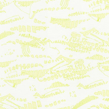 AFR-19069-386 ACID LIME Jetty Imprints in Acid Lime by Carolyn Friedlander for Robert Kaufman Fabrics at Pink Castle Fabrics