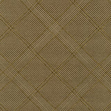 Collection CF Grid Diamond Metallic Border in Brown