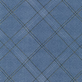 Collection CF Grid Diamond Metallic Border in Navy