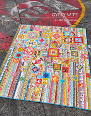 Gypsy Wife - Pattern Book by Jen Kingwell Designs