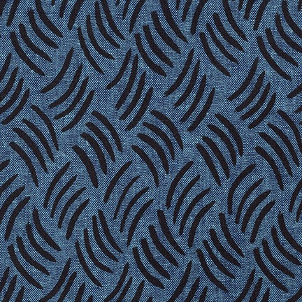 Balboa Interwoven Essex Linen in Peacock