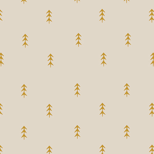 Autumn Vibes Simple Defoliage in Gold