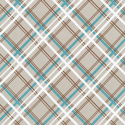 AVL-19251-290 ASH Buffalo Flats Plaid in Ash by Violet Craft for Robert Kaufman Fabrics at Pink Castle Fabrics