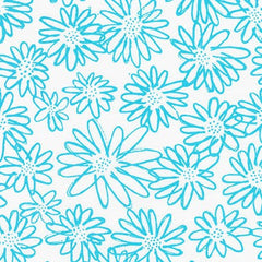 Blueberry Park 2 Scruffy Daisy in Jamaica from Blueberry Park 2 by Karen Lewis for Robert Kaufman