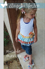 Rags To Ruffles - PDF Apparel Pattern by Angela Yosten Patterns
