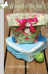 Lunch Bag - PDF Pattern by Angela Yosten Patterns