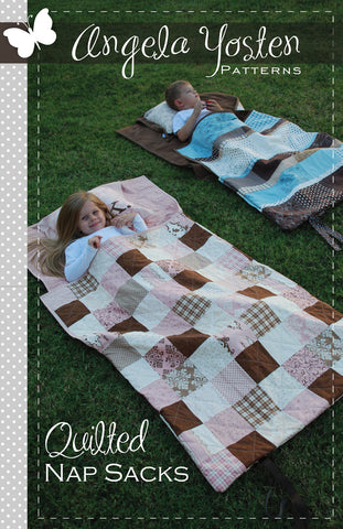 Quilted Nap Sack - PDF Quilt Pattern