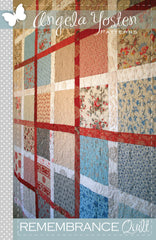 Remembrance Quilt - PDF Quilt Pattern by Angela Yosten Patterns