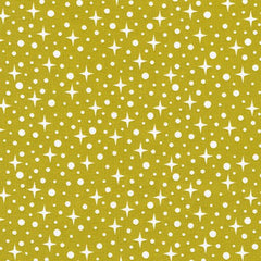 Rhoda Ruth Starlight in Pickle from Rhoda Ruth by Robert Kaufman House Designers  for Robert Kaufman