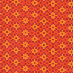 Rhoda Ruth Woven in Flame from Rhoda Ruth by Elizabeth Hartman for Robert Kaufman