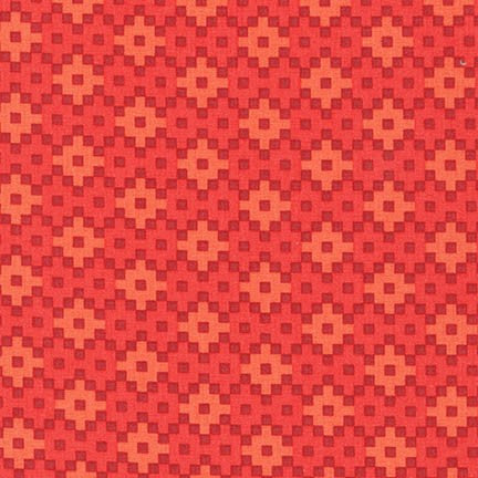 Rhoda Ruth Woven in Coral