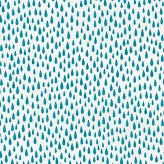 Pacific Rain Drops in Turquoise from Paintbox Basics by Elizabeth Hartman for Robert Kaufman