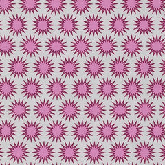 Pacific Suns in Cerise from Paintbox Basics by Elizabeth Hartman for Robert Kaufman