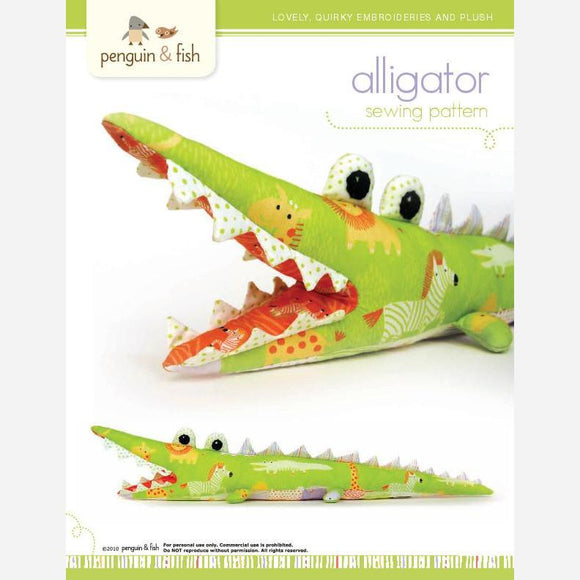 Alligator - PDF Accessory Pattern