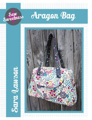 Aragon Bag - Accessory Pattern from Straight Stitch Society by Sew Sweetness