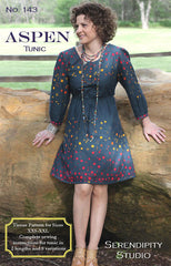 The Aspen Tunic – Printed Apparel Pattern by Serendipity Studio