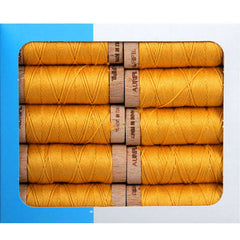 Aurifil Aurifloss 18 Yard Spool – Tarnished Gold from Aurifloss