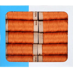Aurifil Aurifloss 18 Yard Spool – Medium Orange from Aurifloss
