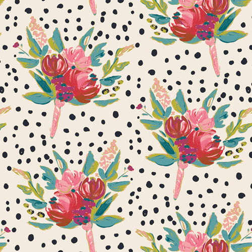 BLB-54720 Bloomsbury West End in Gathers by Bari J for Art Gallery Fabrics from Pink Castle Fabrics
