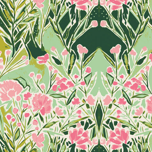 BLB-54724 Bloomsbury Ms. Woolf in Freshwater by Bari J for Art Gallery Fabrics from Pink Castle Fabrics