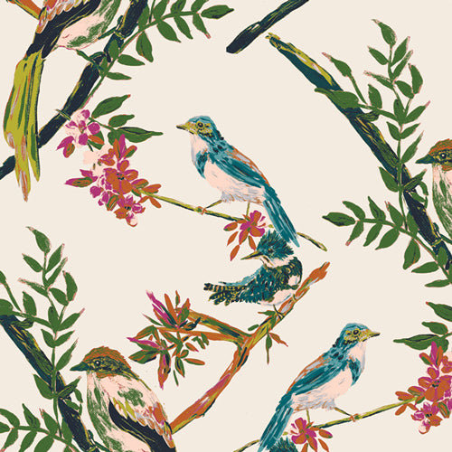 BLB-54725 Bloomsbury Day Chatter by Bari J for Art Gallery Fabrics from Pink Castle Fabrics